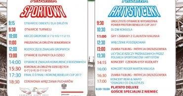 Turniej piłki nożnej Power Protein Benelux Cup 2017!