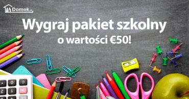 Wygraj pakiet szkolny o wartości 50-, euro!