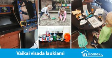 Vaikų žaidimų aikštelė ir hipotekos patarėjas viename. Sveiki apsilankę Domek.nl