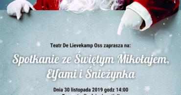 Spotkanie ze Świętym Mikołajem, Elfami i Śnieżynką